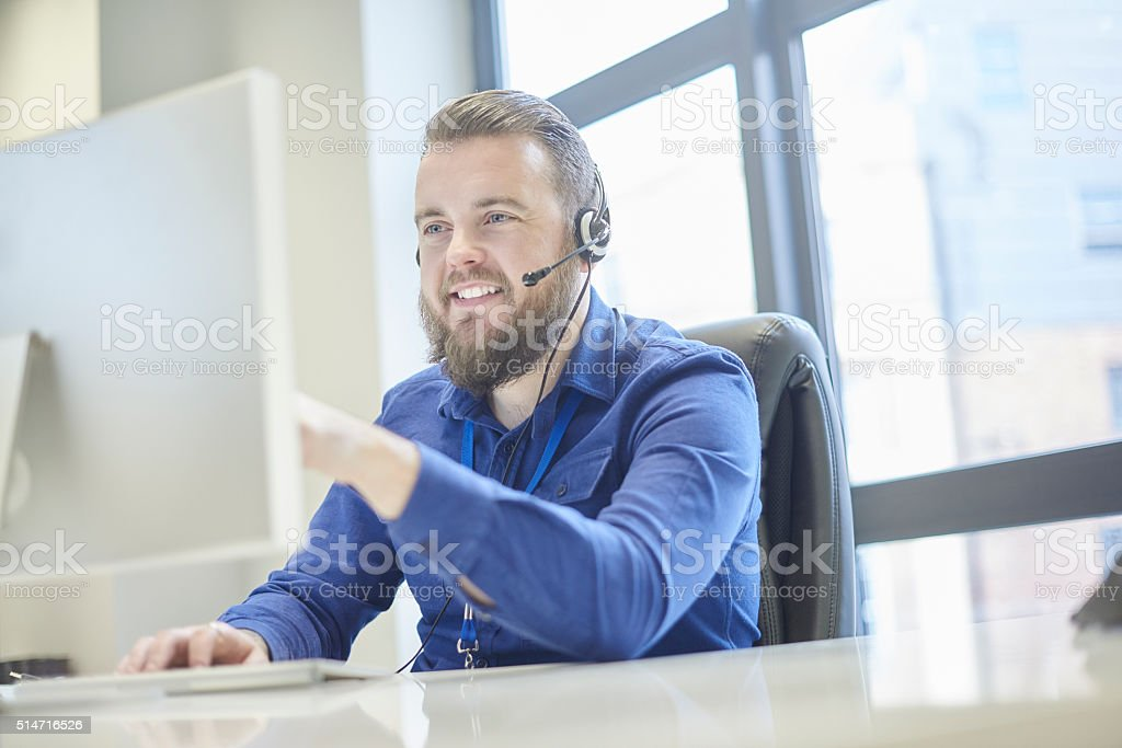 checking your order stock photo