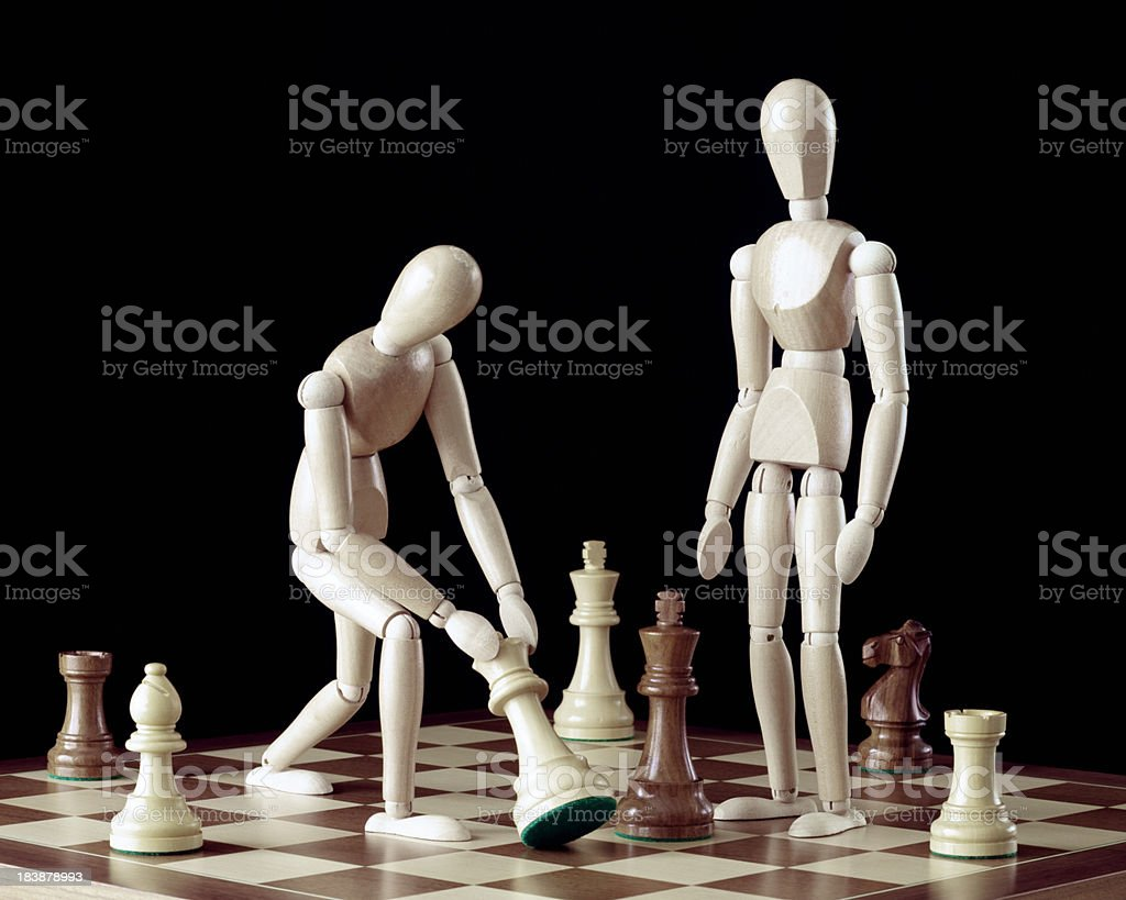 Checkmate Not Quite XL+ royalty-free stock photo
