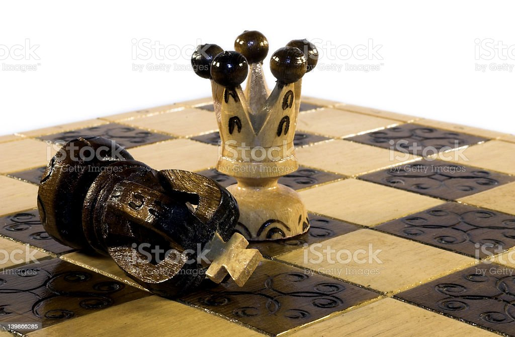 checkmate royalty-free stock photo