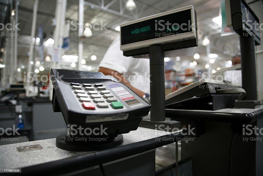 Checkout stock photo