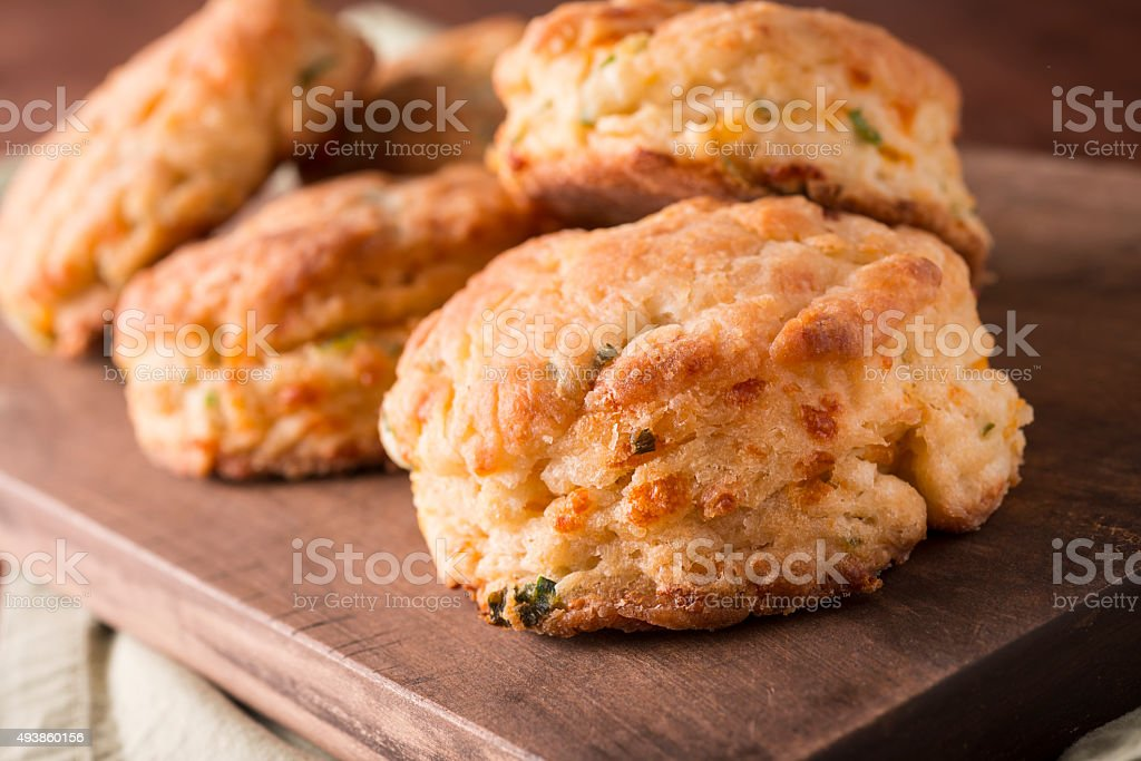 Cheddar Biscuits stock photo