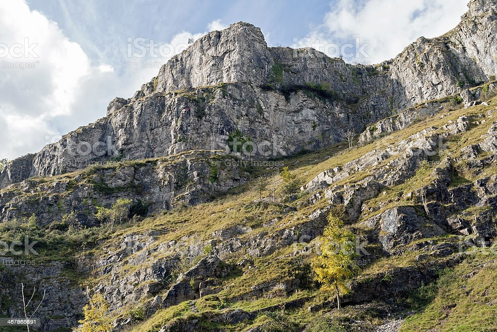 Cheddar Gorge Somerset stock photo