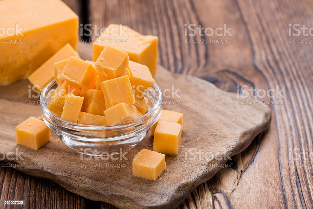 Cheddar stock photo