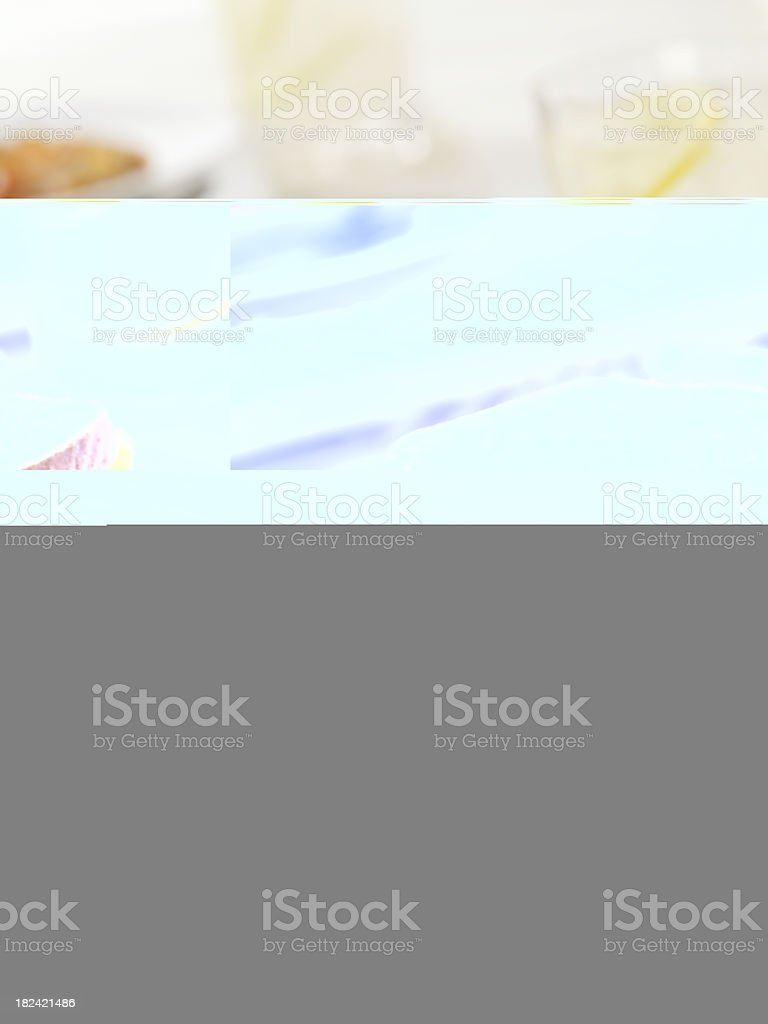 Chedder Cheese Omelette royalty-free stock photo