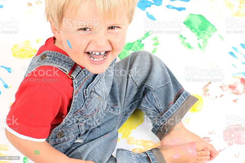 Cheeky Boy royalty-free stock photo