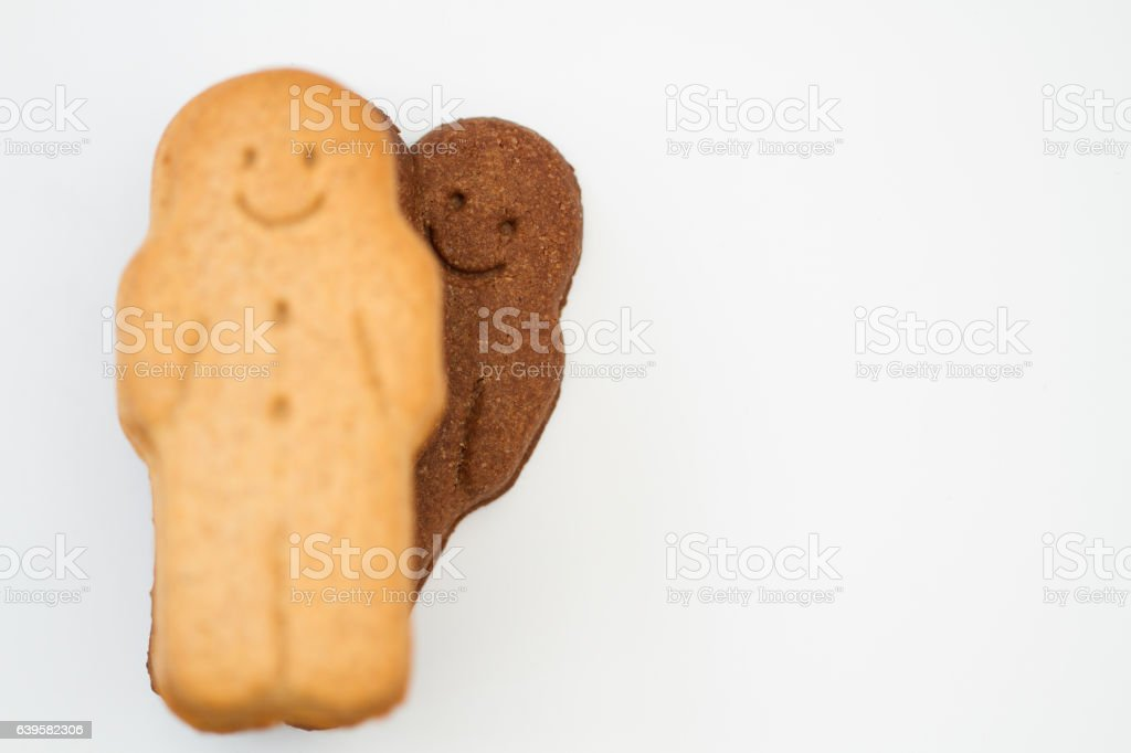 Cheeky Gingerbread Man stock photo