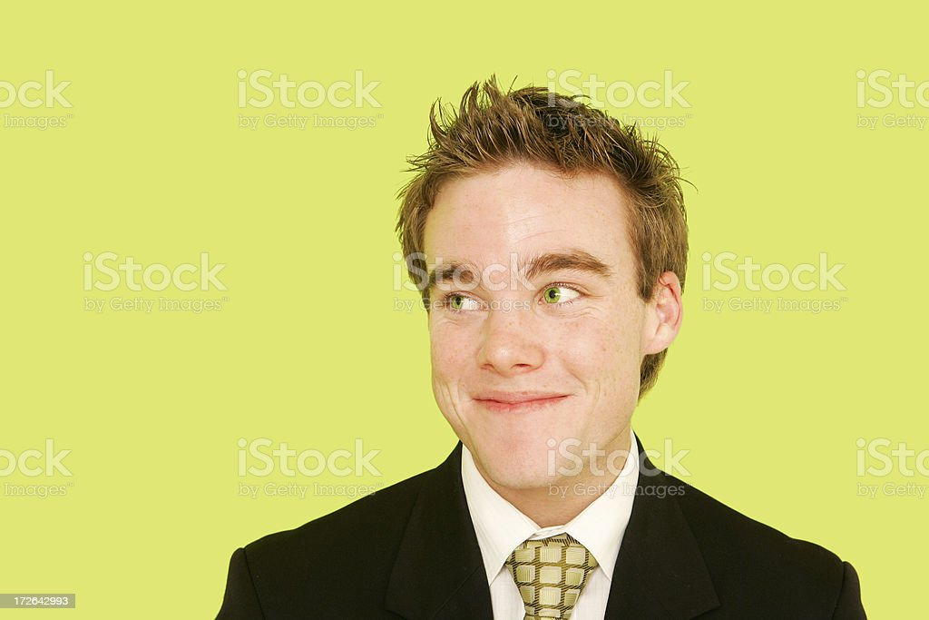 Cheeky Grin royalty-free stock photo