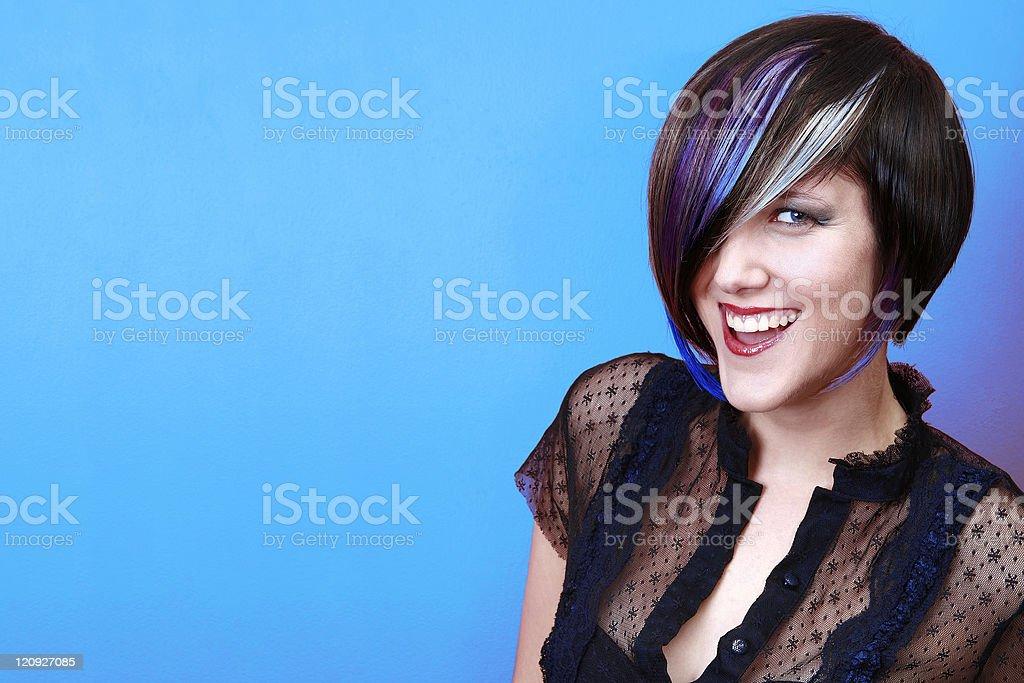 Cheeky Smile stock photo