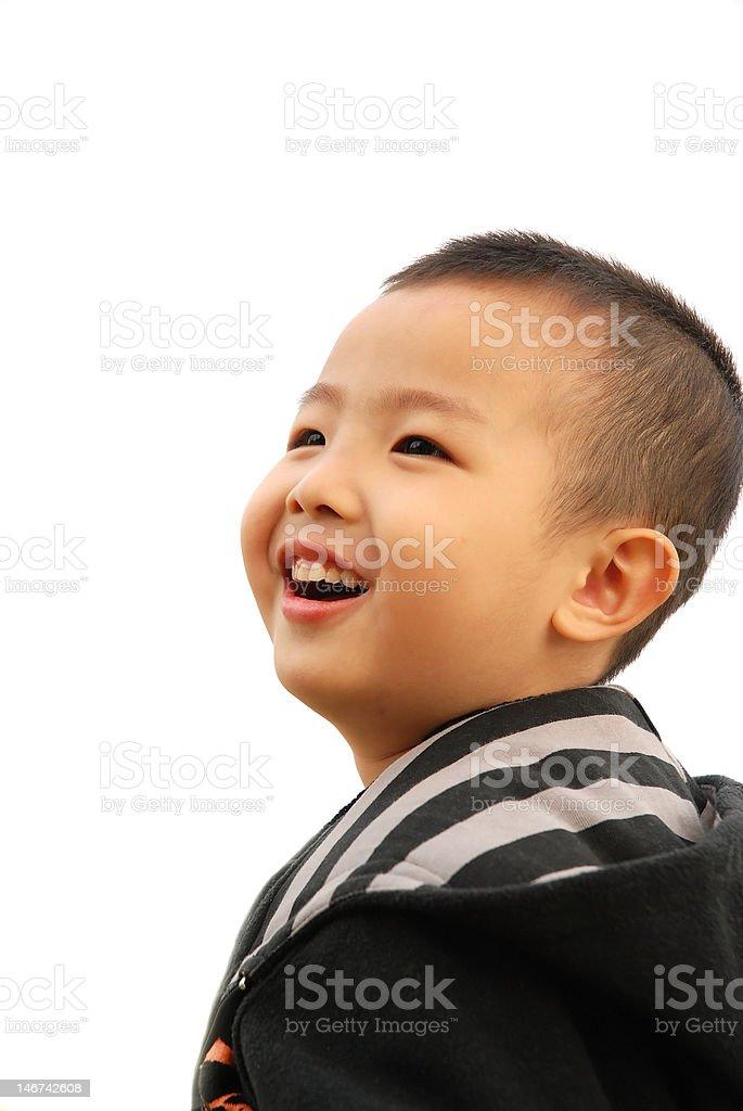 Cheerful Boy royalty-free stock photo