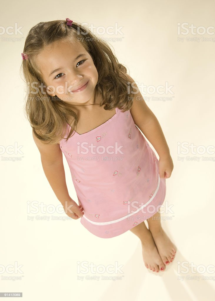 Cheerful Child (Perspective) royalty-free stock photo