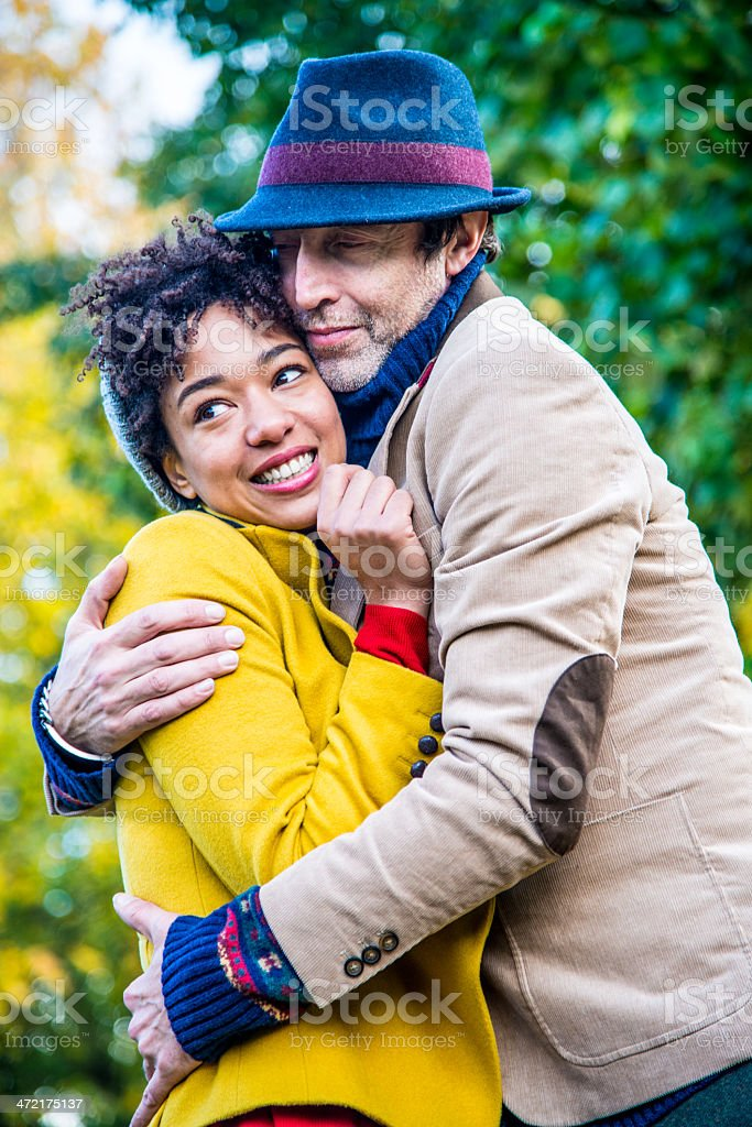 Cheerful couple royalty-free stock photo