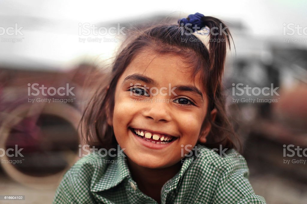 Cheerful Happy Girl stock photo
