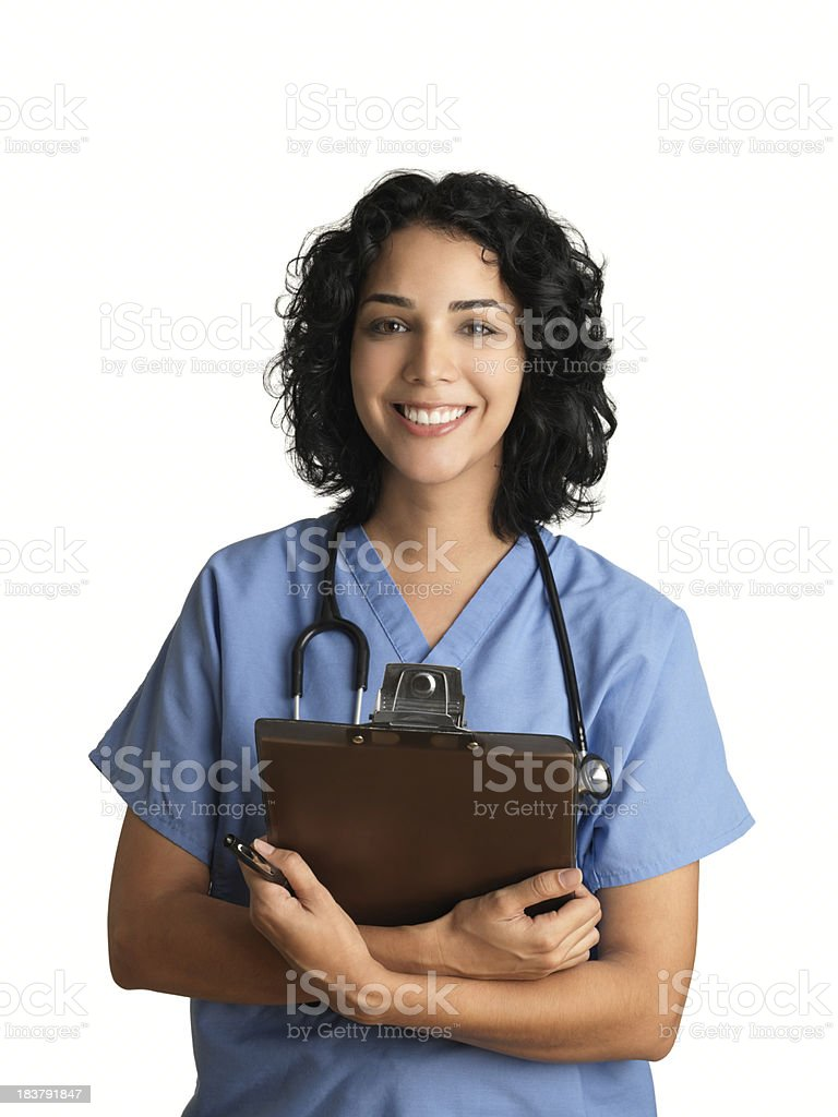 Cheerful healthcare professional royalty-free stock photo
