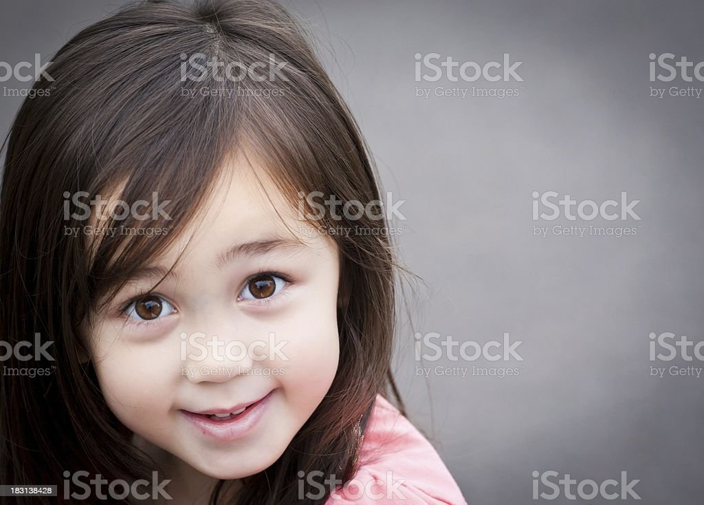 Cheerful Little Beauty royalty-free stock photo