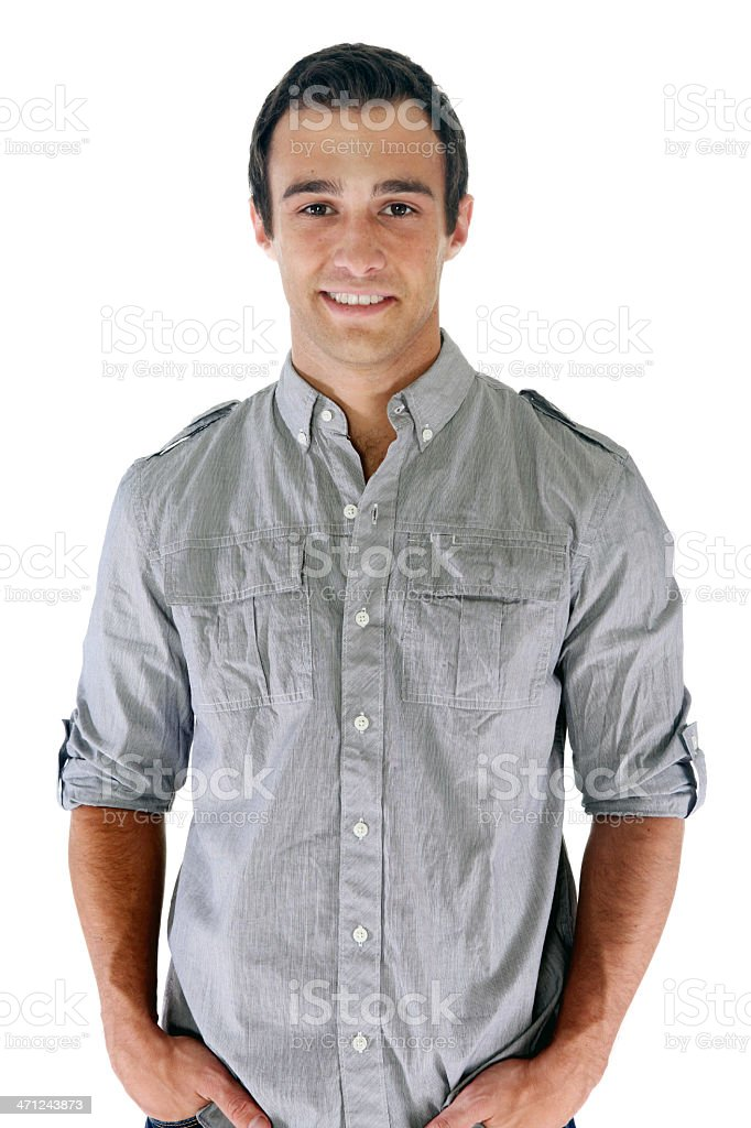 Cheerful male royalty-free stock photo