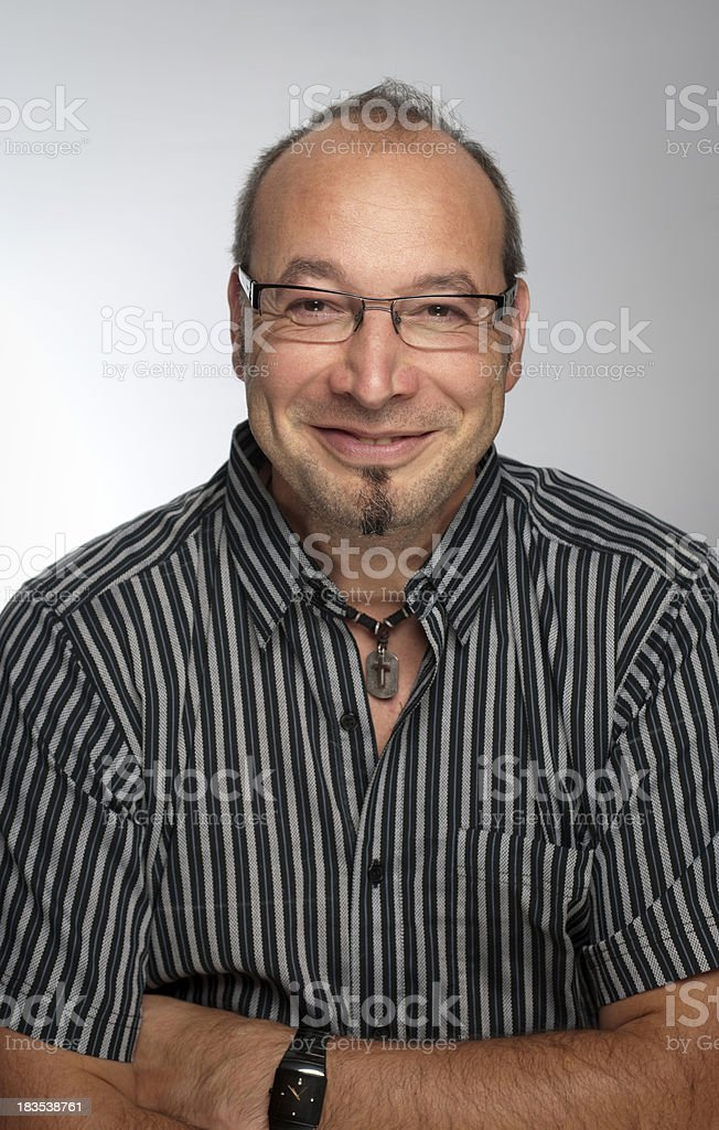 Cheerful man royalty-free stock photo
