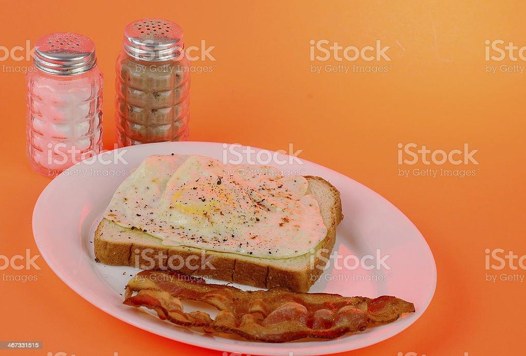 Cheerful Morning Breakfast royalty-free stock photo