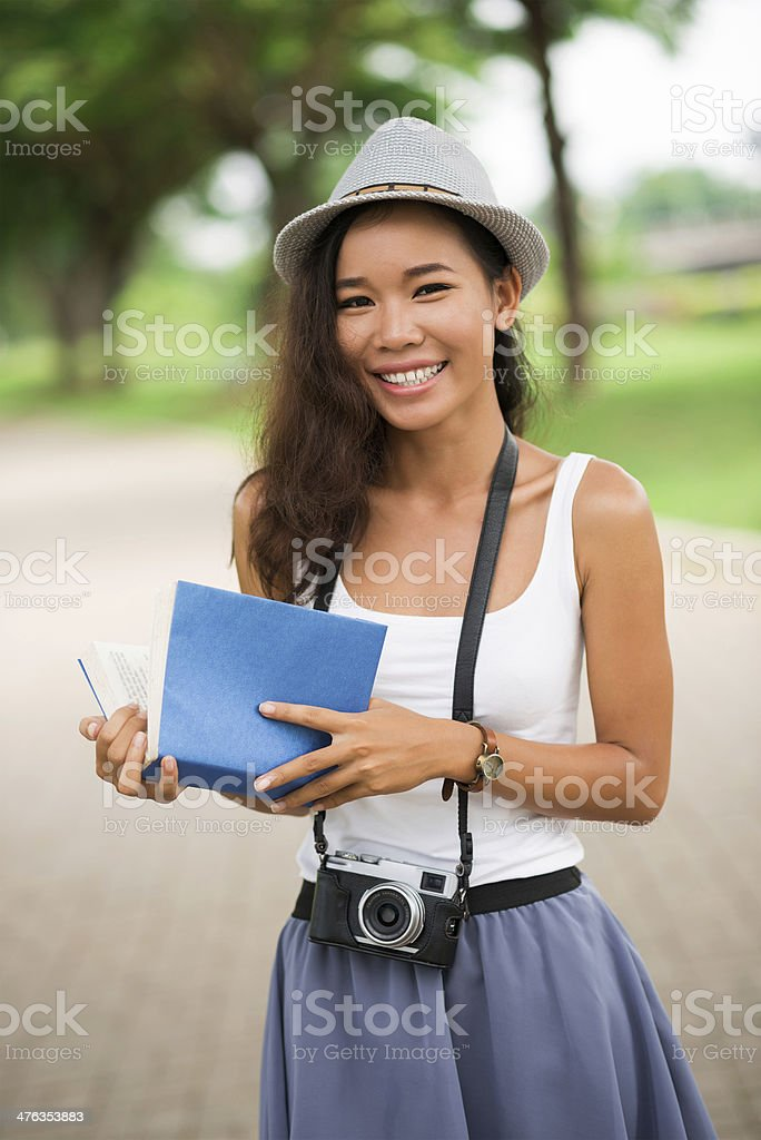 Cheerful pastime royalty-free stock photo