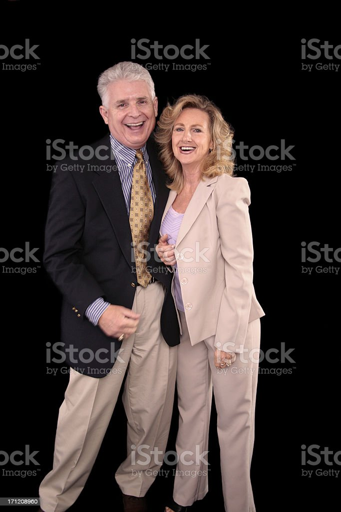 Cheerful royalty-free stock photo
