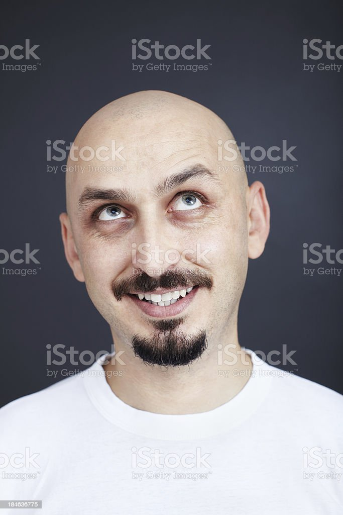 Cheerful Portrait stock photo