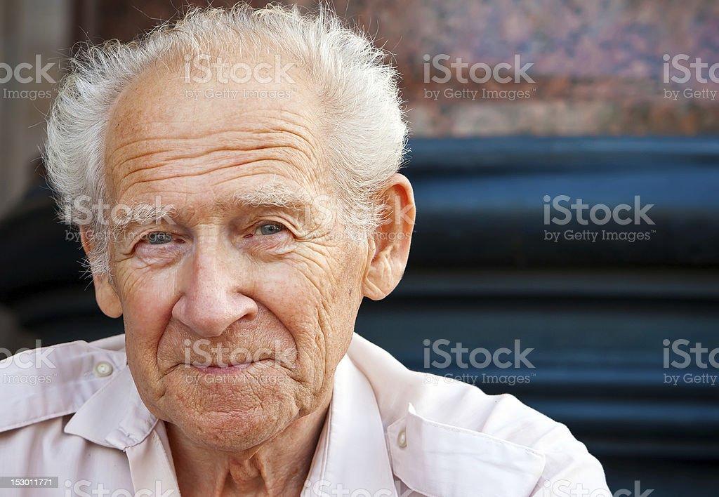 Cheerful Senior Man royalty-free stock photo