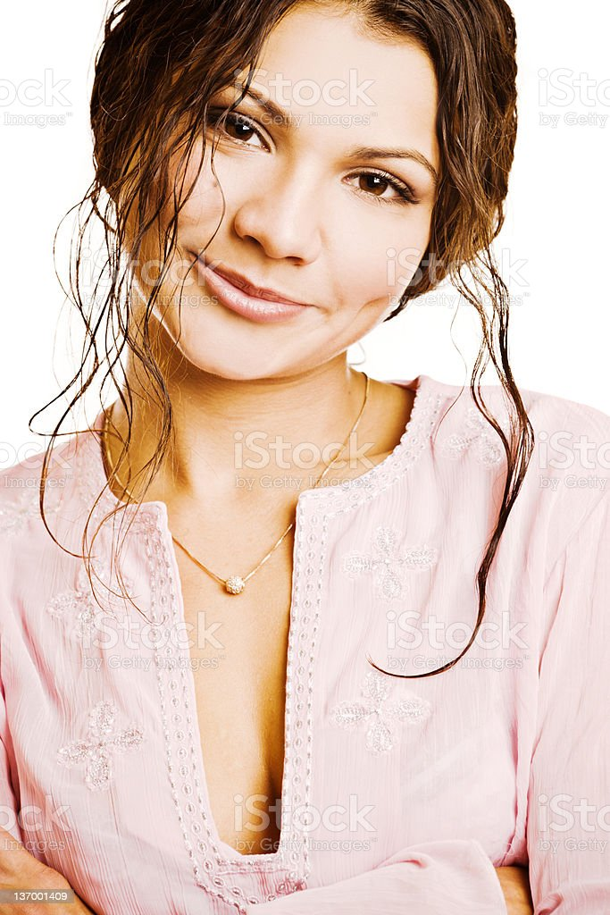 Cheerful Smile royalty-free stock photo