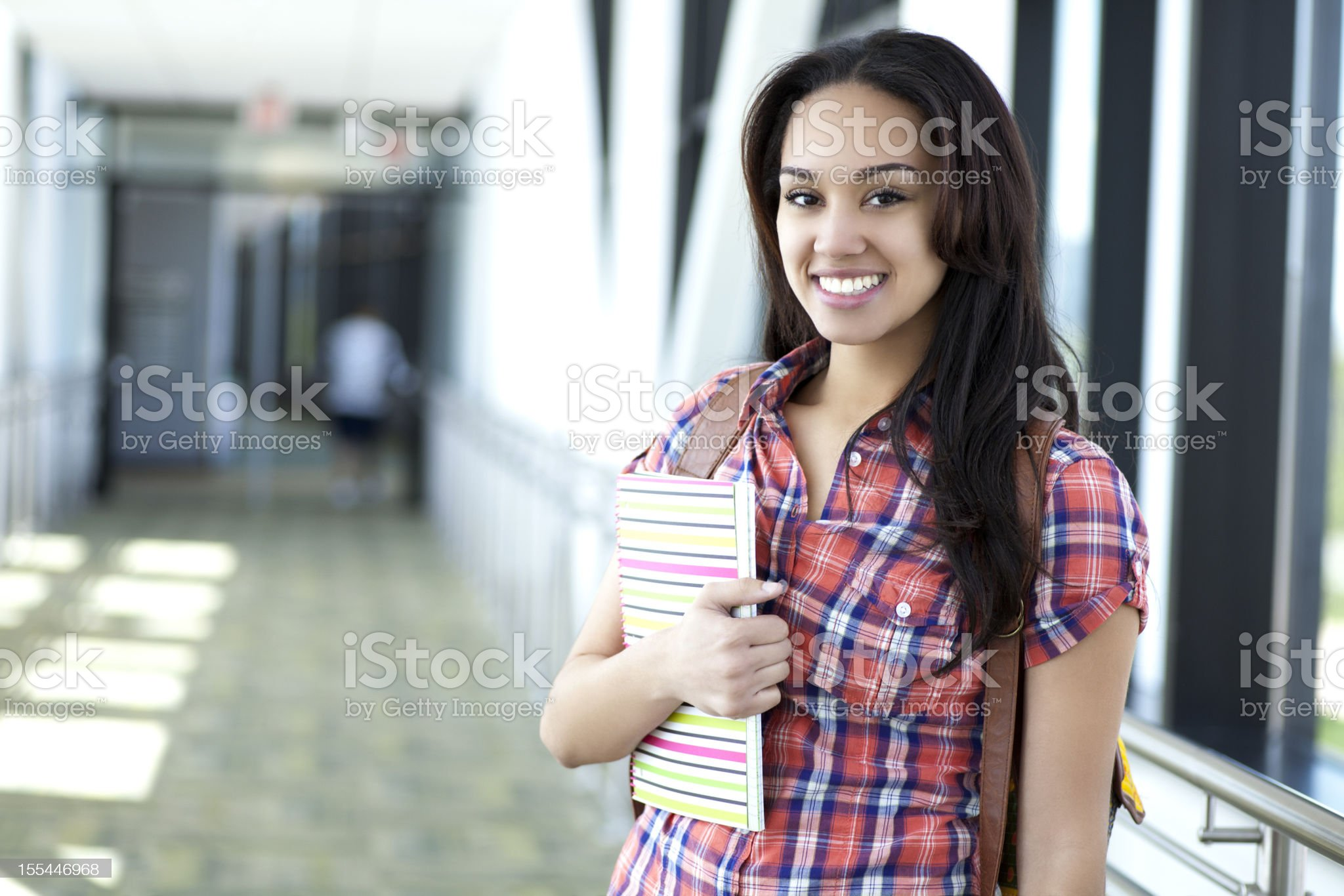 Cheerful student royalty-free stock photo