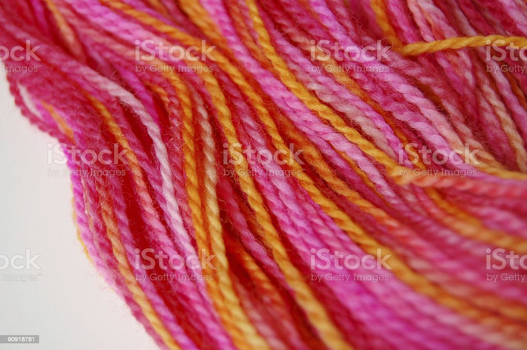 Cheerful Yarn royalty-free stock photo