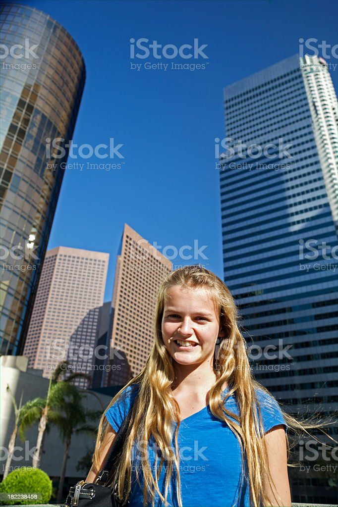 Cheerful Youth in Business stock photo