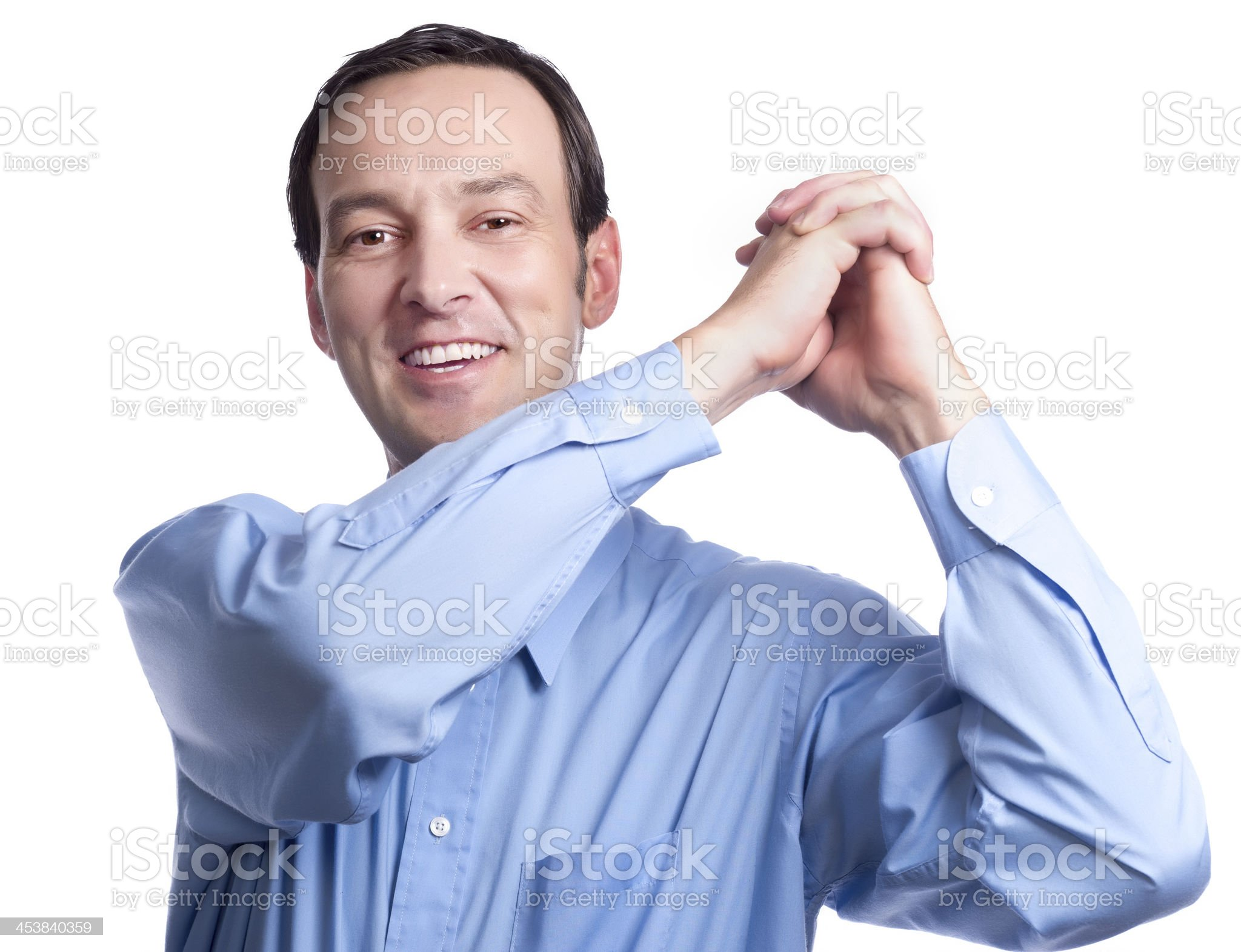 Cheering for the Team royalty-free stock photo
