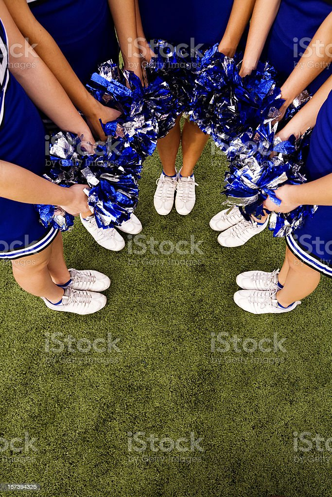 Cheerleader Background stock photo