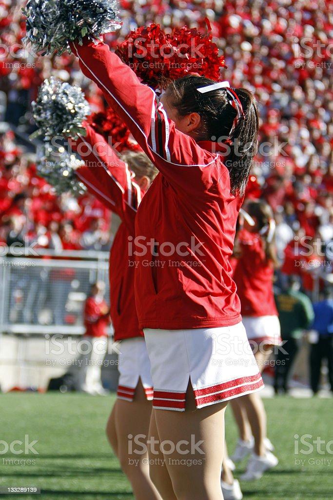 Cheerleaders royalty-free stock photo