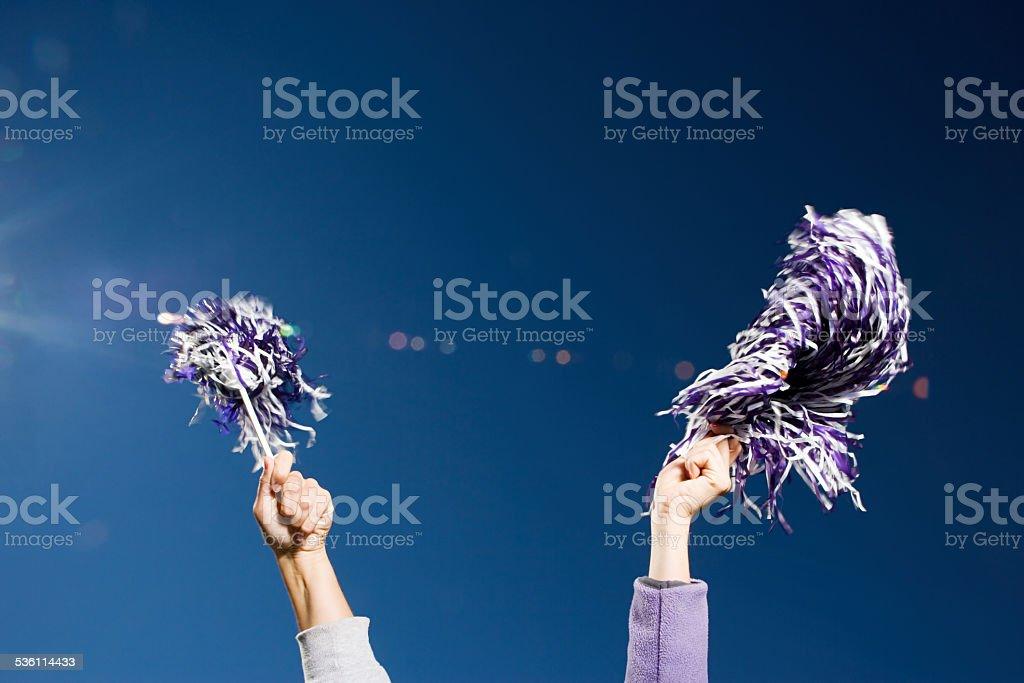 Cheerleading stock photo