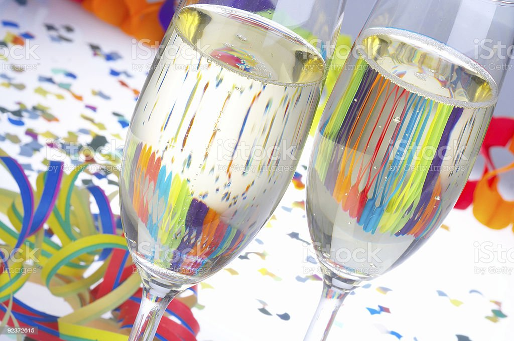 Cheers - carnival stock photo