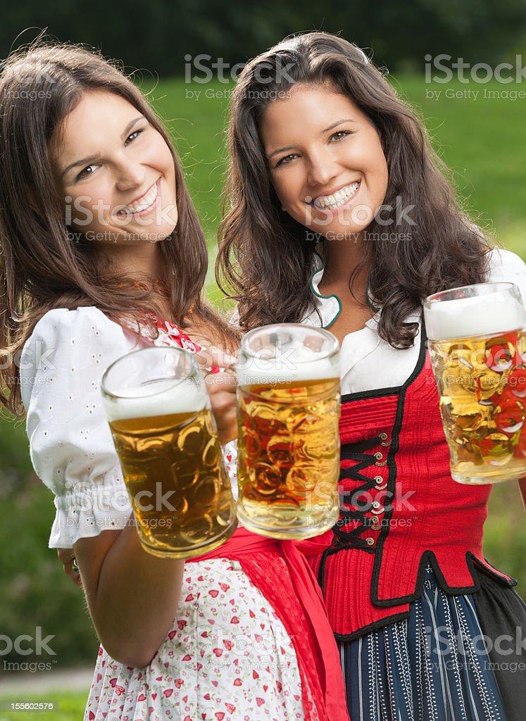 Cheers! Oktoberfest (XXXL) royalty-free stock photo