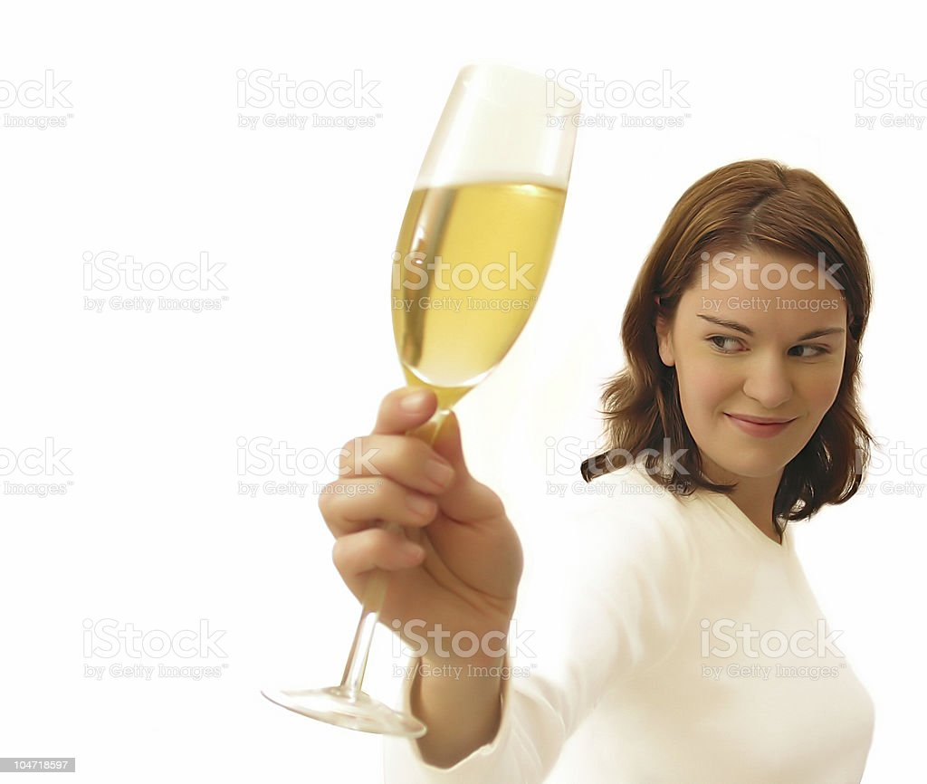Cheers royalty-free stock photo