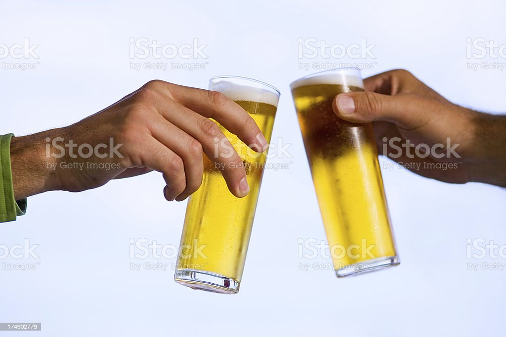 Cheers ! royalty-free stock photo
