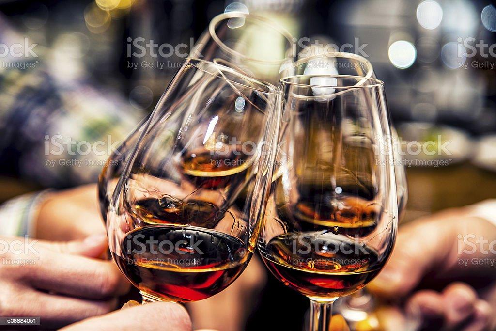 Cheers. stock photo