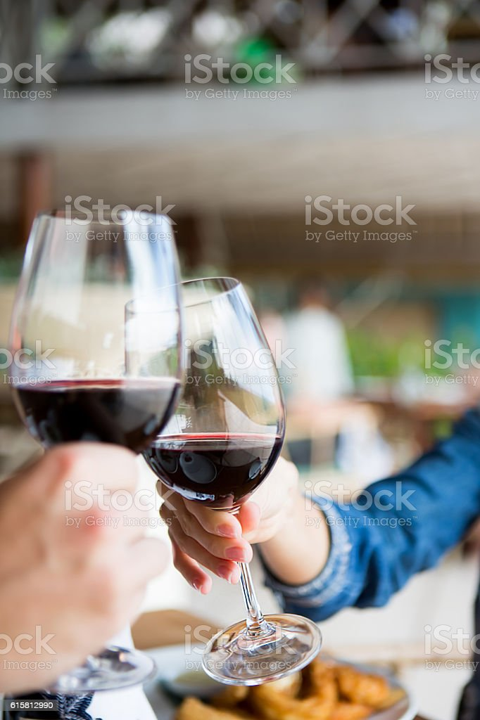 Cheers stock photo