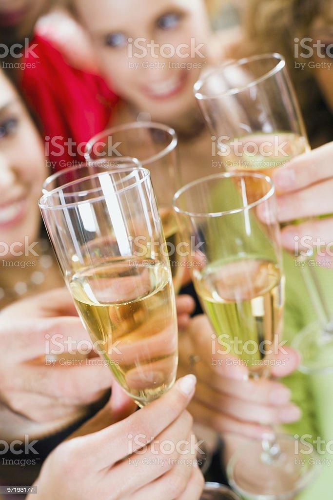 Cheers royalty-free stock photo