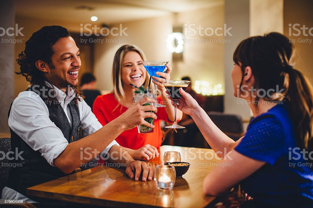 Cheers to this! stock photo