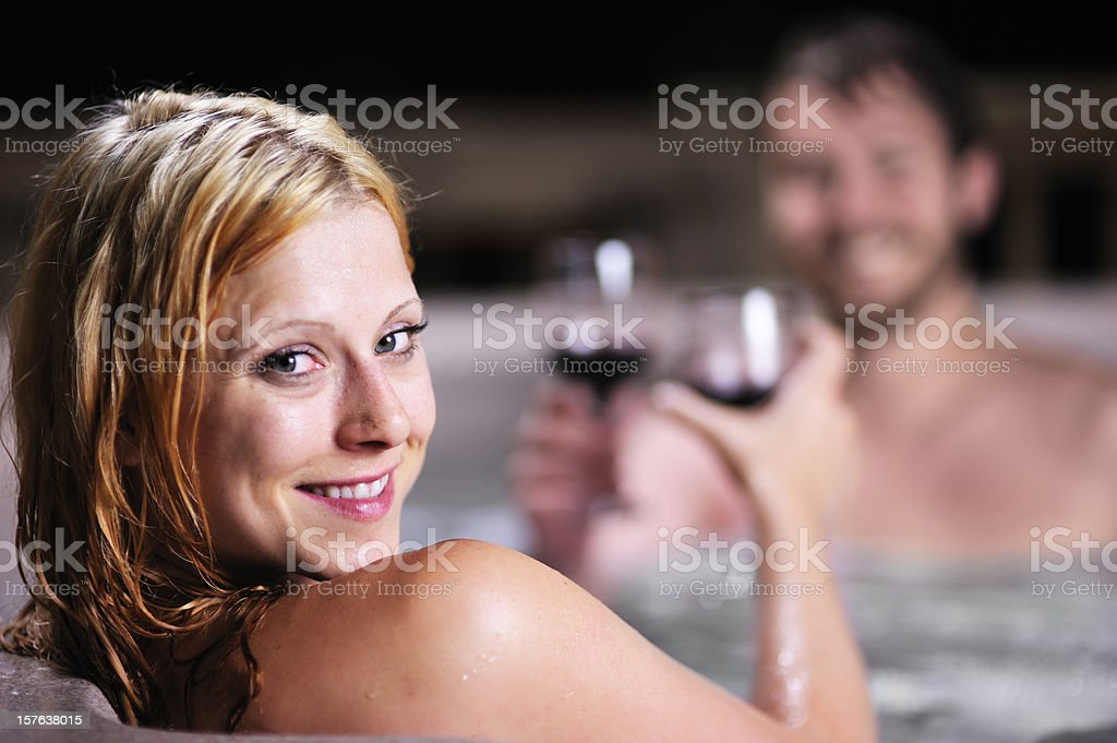 Cheers to Us royalty-free stock photo