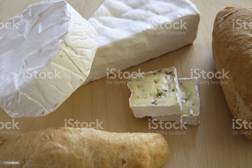 cheese and bread 7 royalty-free stock photo