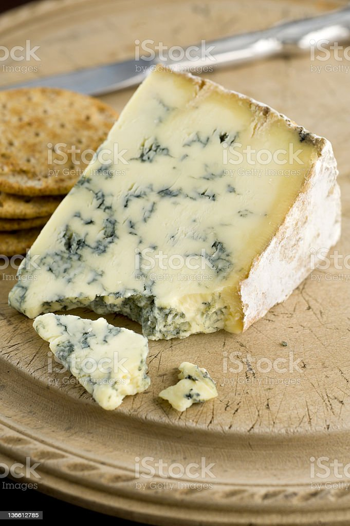 Cheese and Crackers stock photo