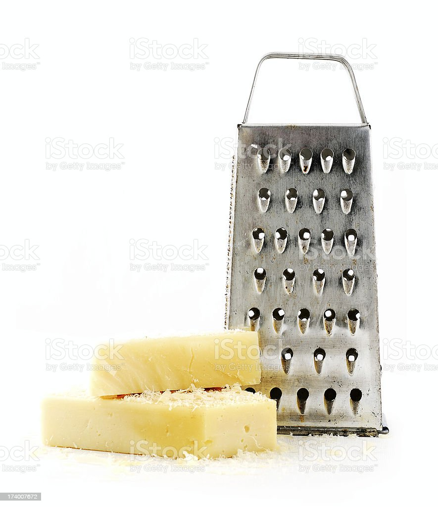 cheese and grater royalty-free stock photo