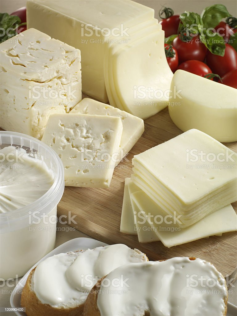 Cheese arrangement royalty-free stock photo