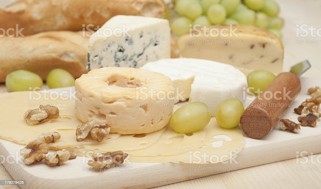 Cheese Assortment royalty-free stock photo