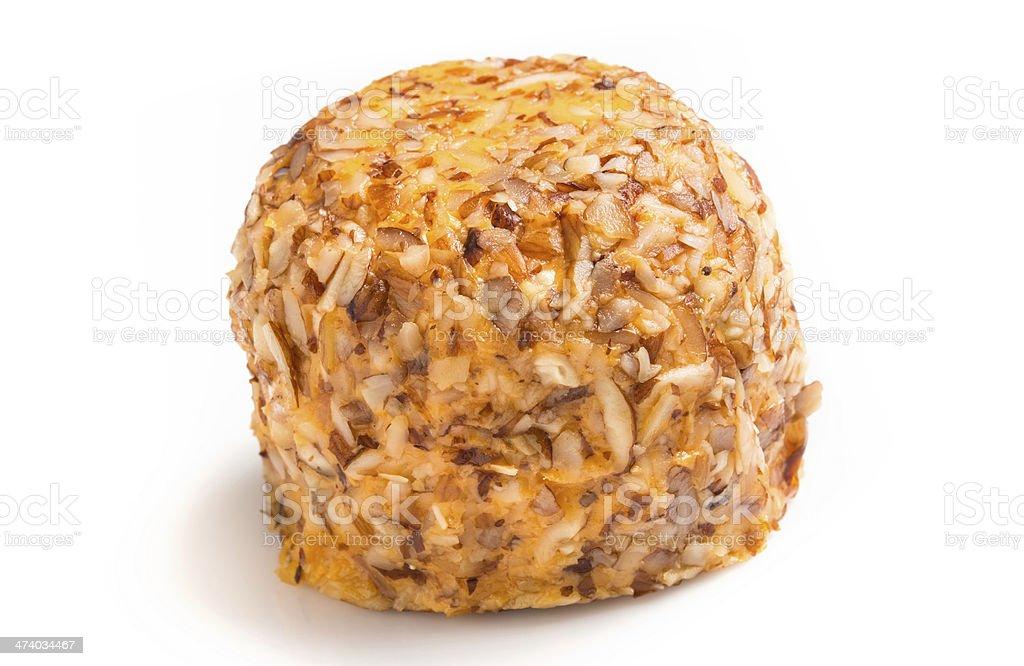 Cheese Ball stock photo