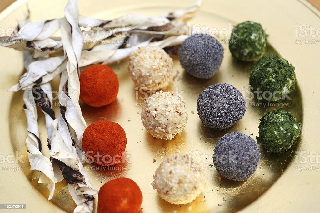 Cheese Balls stock photo