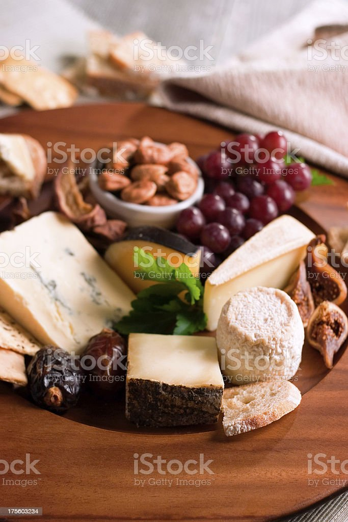 Cheese Banquet stock photo